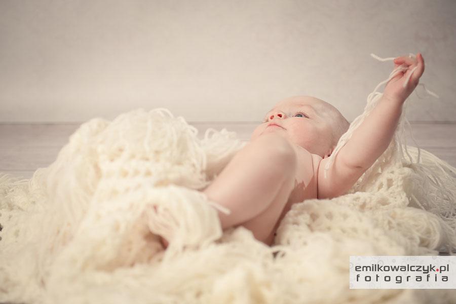 Sesja niemowlęca w Siedlcach